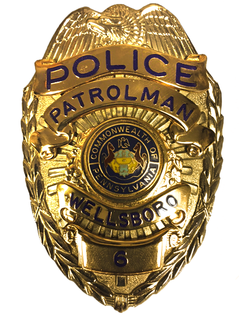 Wellsboro Police Badge2017